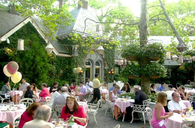 Tavern on the Green in Central Park.