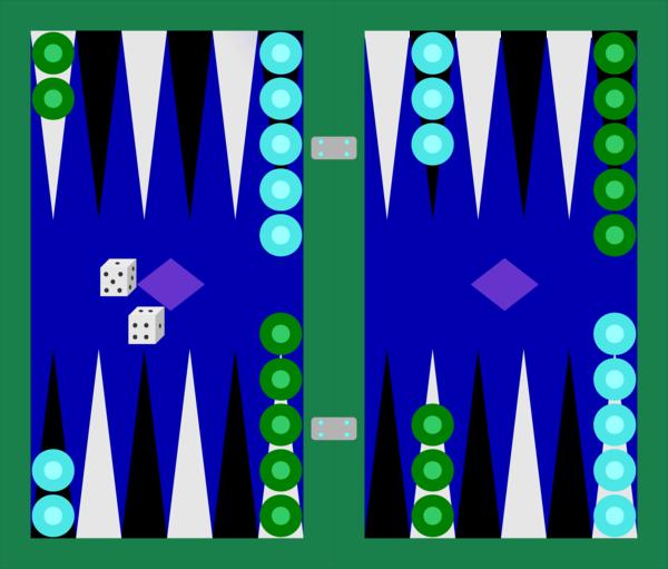 Backgammon Tavli.