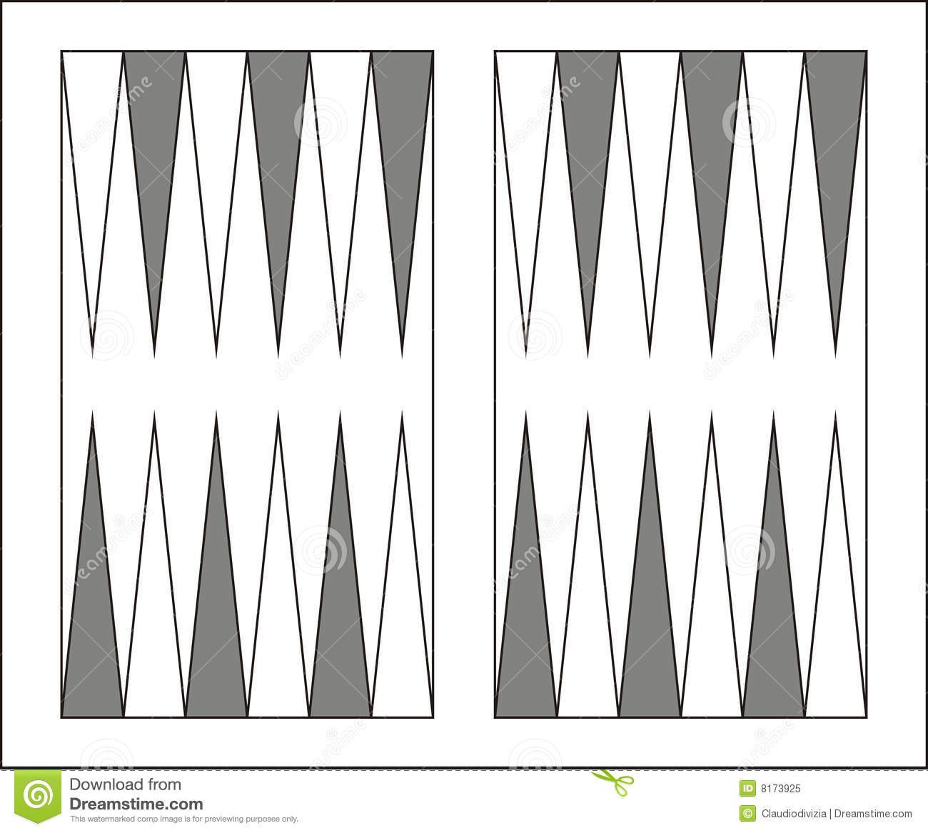 Backgammon Stock Illustrations.