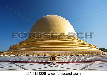 Stock Images of Myanmar ,near Mandalay ,Sagaing City, Kaung Hmu.