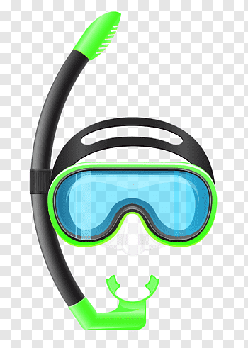 Diving Snorkeling Masks cutout PNG & clipart images.