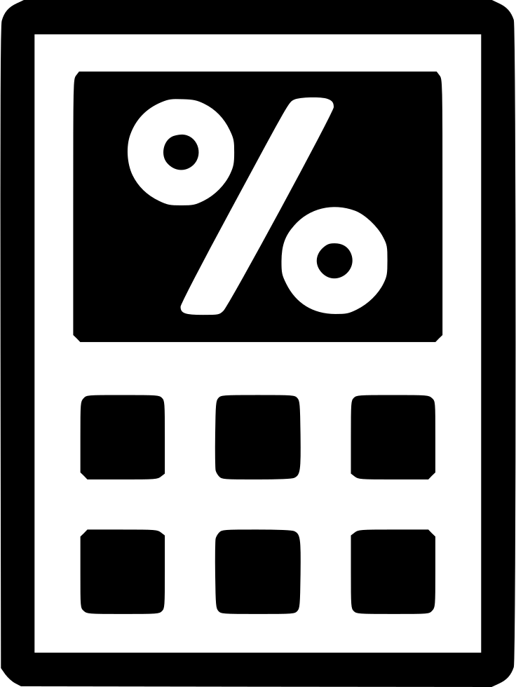 Tax Calculator Svg Png Icon Free Download (#549451.