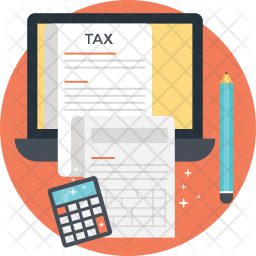 Tax Calculation Icon.