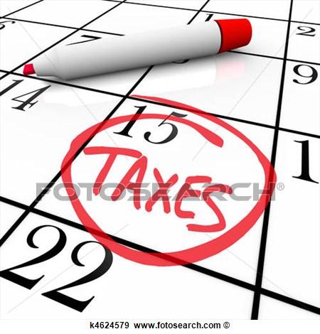 Tax Clip Art.