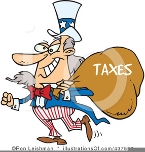 Free Clipart Tax Collector.