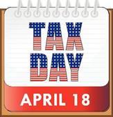 Tax Day Clip Art.