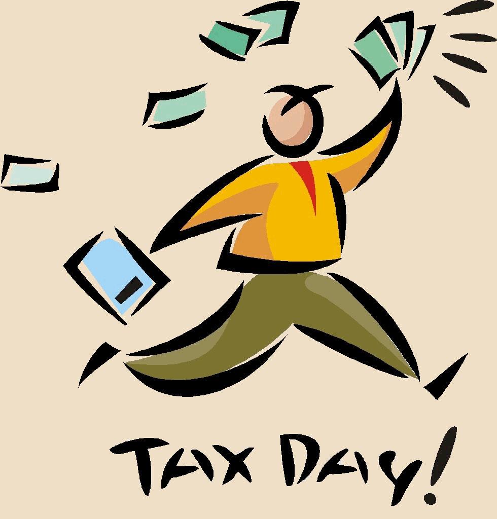 Income Tax Day Clip Art.