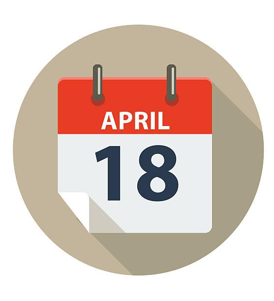 Tax Day Calendar Clip Art, Vector Images & Illustrations.