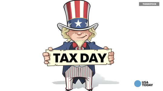 Tax Day is on April 18 this year, not April 15.