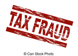 Clipart of Tax evasion background concept.