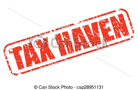 Vectors of Tax haven red stamp text on white csp28951131.
