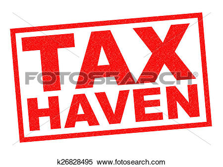 Stock Illustration of TAX HAVEN k26828495.