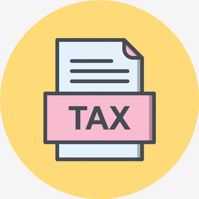 Tax File Document Icon, Tax, Document, File PNG and Vector.