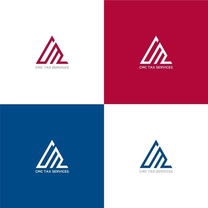 Create a Modern Tax Service Logo.