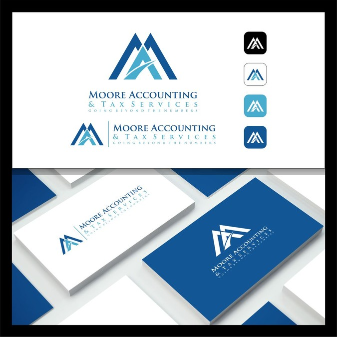 Moore Accounting & Tax Logo.
