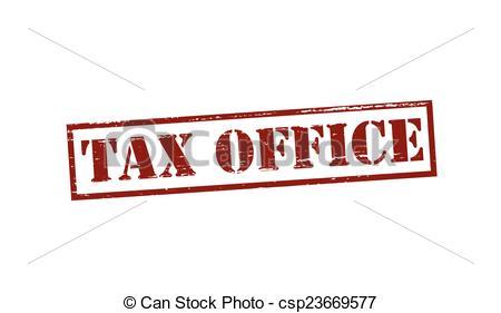 Vectors Illustration of Tax office.