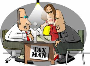 Couple At a Certified Public Accountants Office Getting Their.