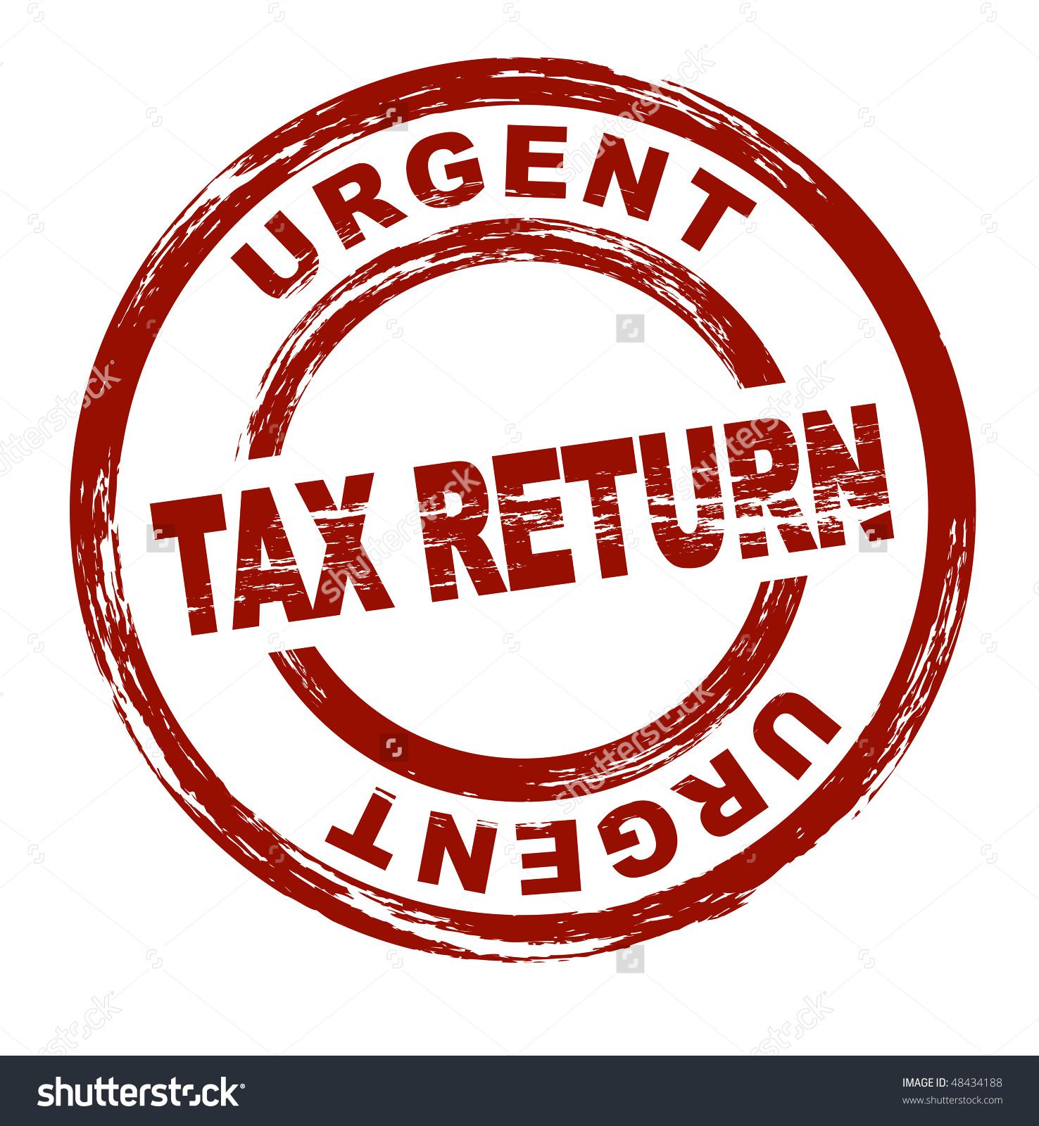 Tax Return Clip Art.