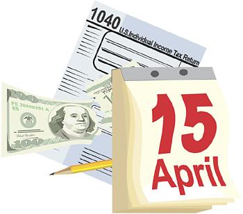 2013 Tax Return Clip Art.