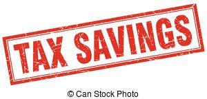 Tax savings square stamp Clip Art Vector Graphics. 15 Tax savings.