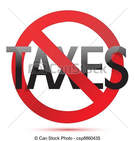No Tax Clipart Usa.
