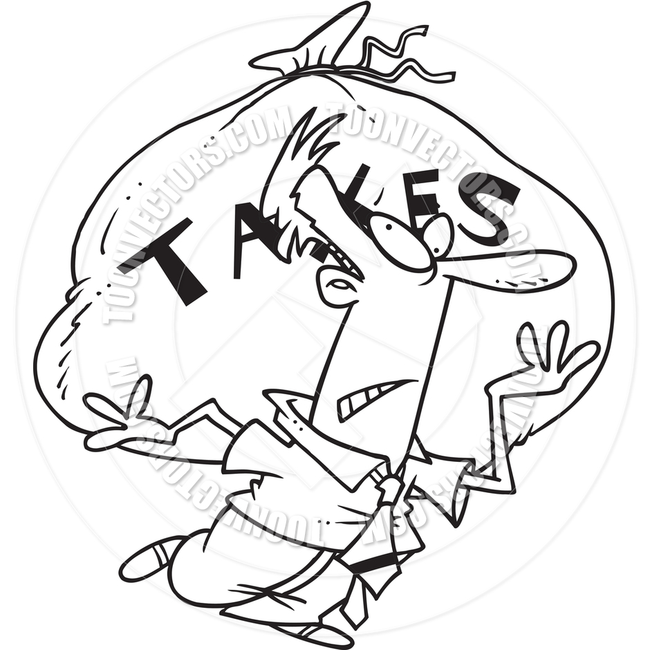taxes clipart black and white - Clipground