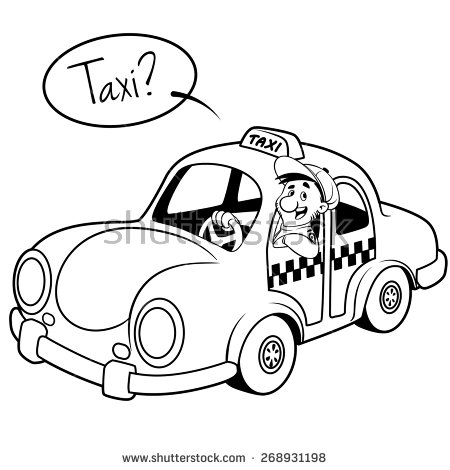 330 Taxi free clipart.