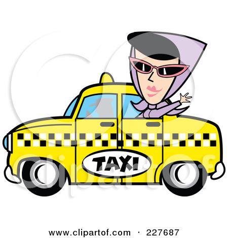 Taxicab Clipart.