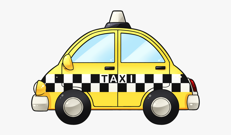 Free To Use &, Public Domain Taxi Clip Art.