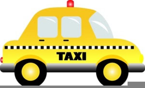 New York Taxi Cab Clipart.