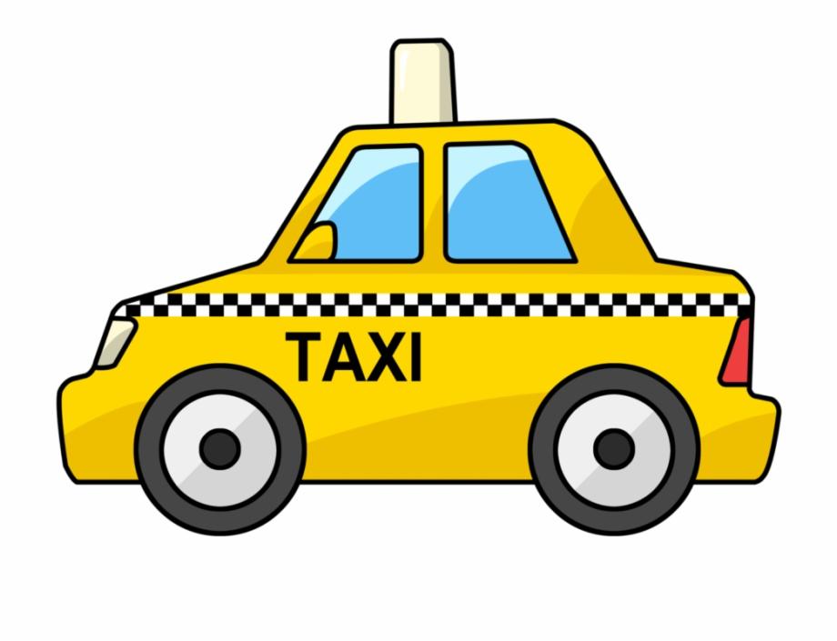 Taxi Car Clipart Cartoon Taxi.