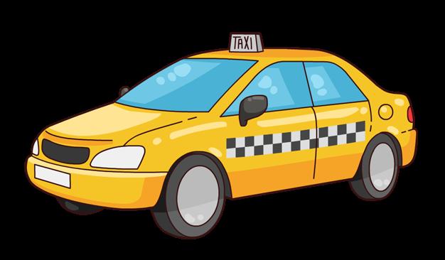 Taxi Cab Clipart.