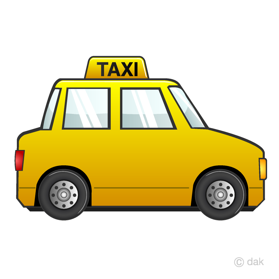 Taxi Clipart Free Picture|Illustoon.