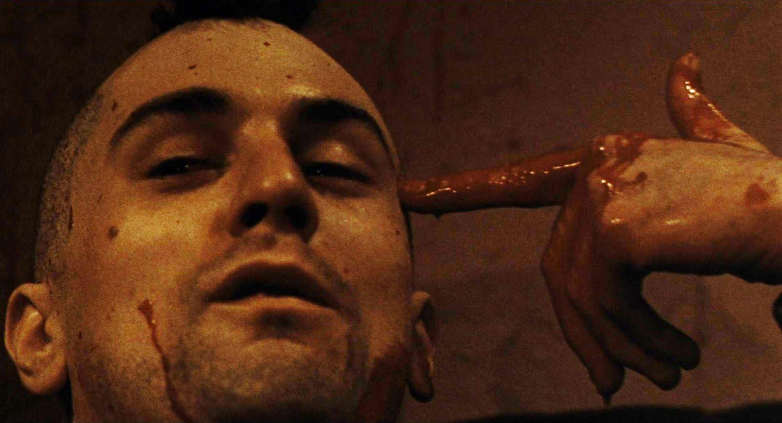 Taxi Driver ending.