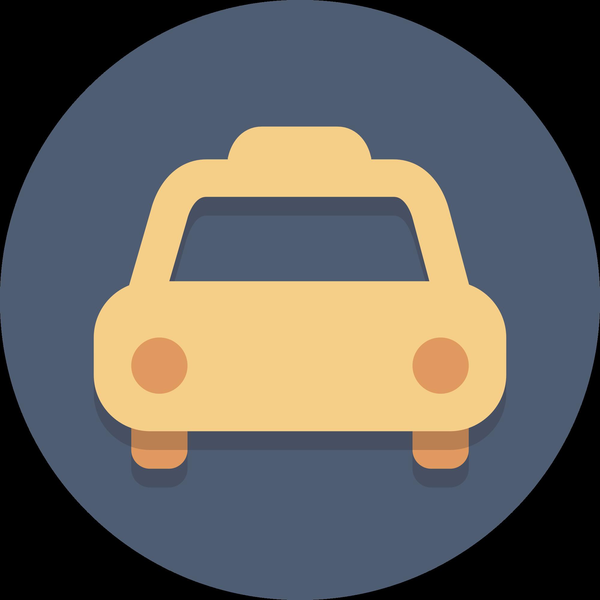 Circle Icons Taxi.