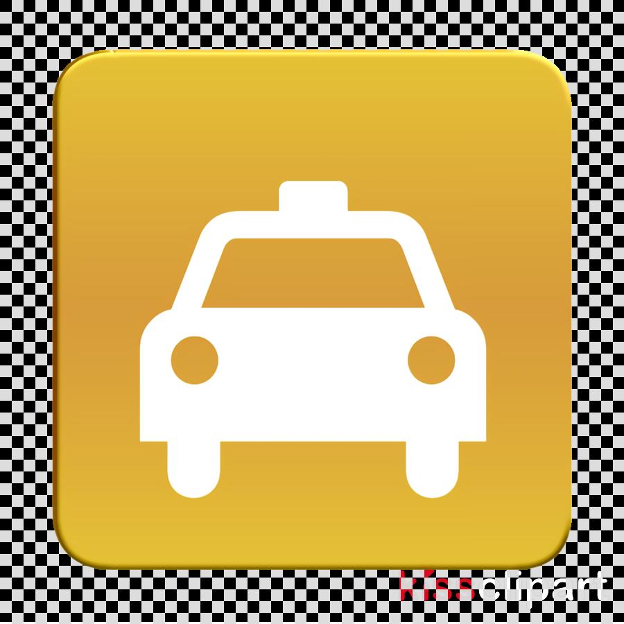 car icon taxi icon clipart.