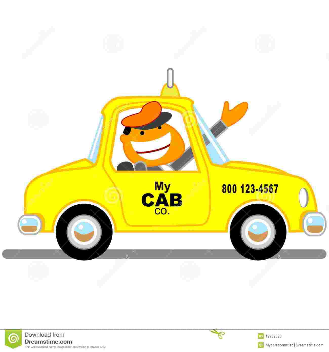Free Cliparts: Taxi Cab Clipart Taxi Vector Illustration.