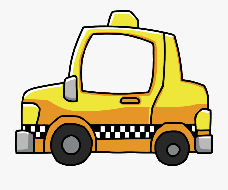 Taxi Driver Clipart Yellow Taxi.