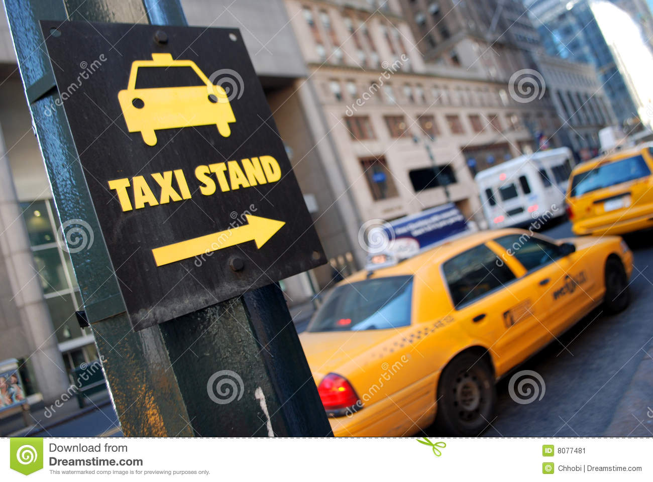 Taxi Stand Clip Art.
