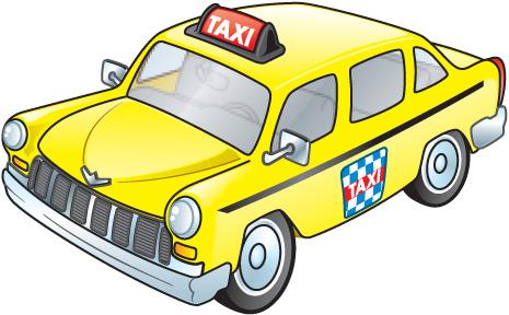 Taxi Clip Art.