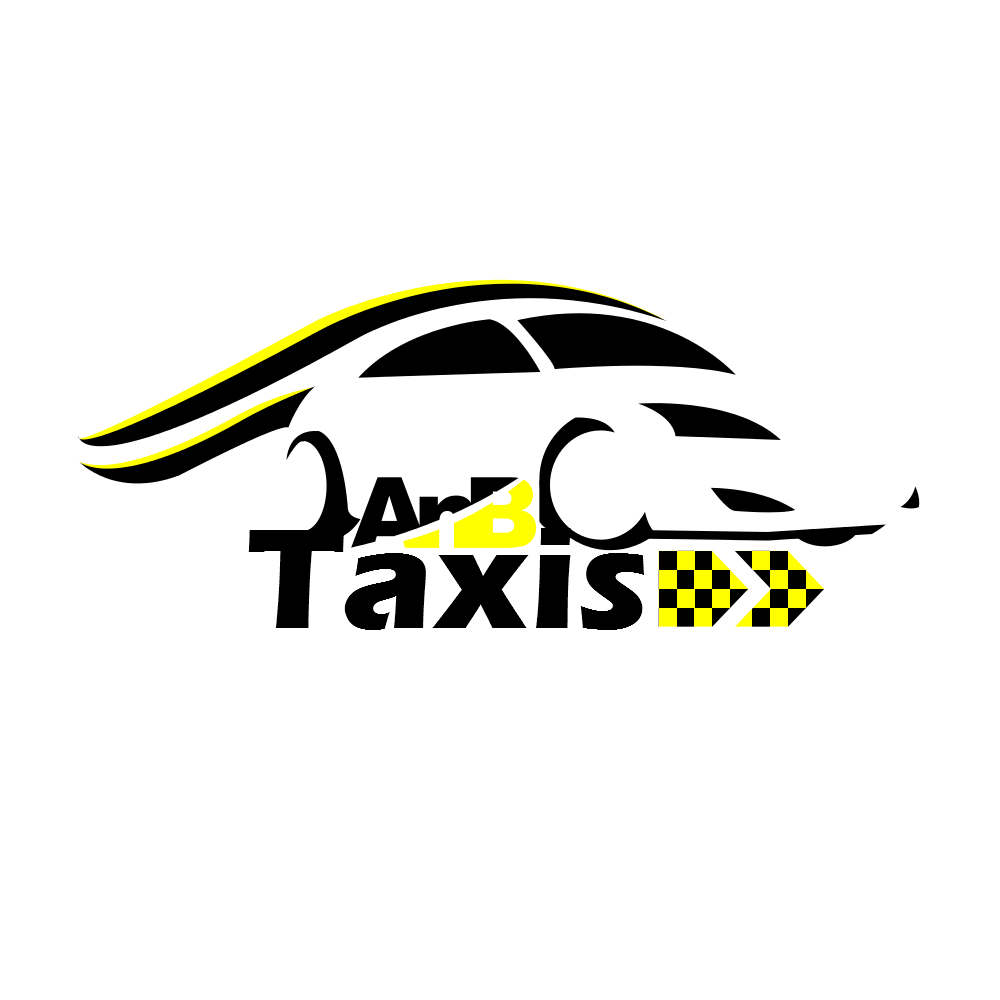 Serious, Professional, Taxi Logo Design for A \'n\' B Taxis by.