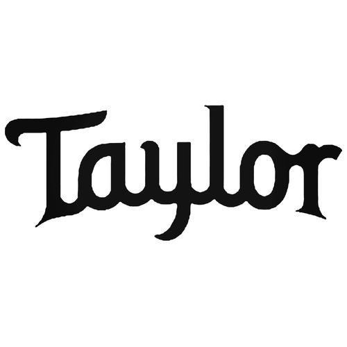 Taylor Guitars Decal Sticker in 2019.