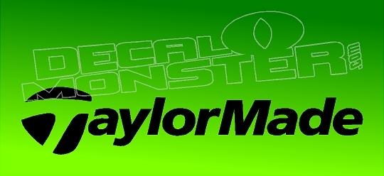 Taylor Made Logo Decal Sticker.