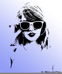 Taylor Swift Clipart.
