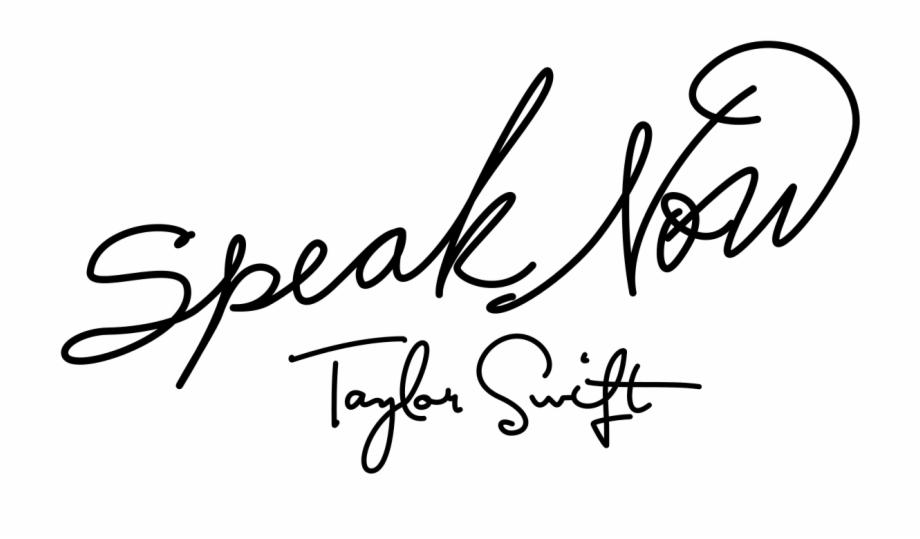 Speak Now Taylor Swift Logo, Transparent Png Download For.