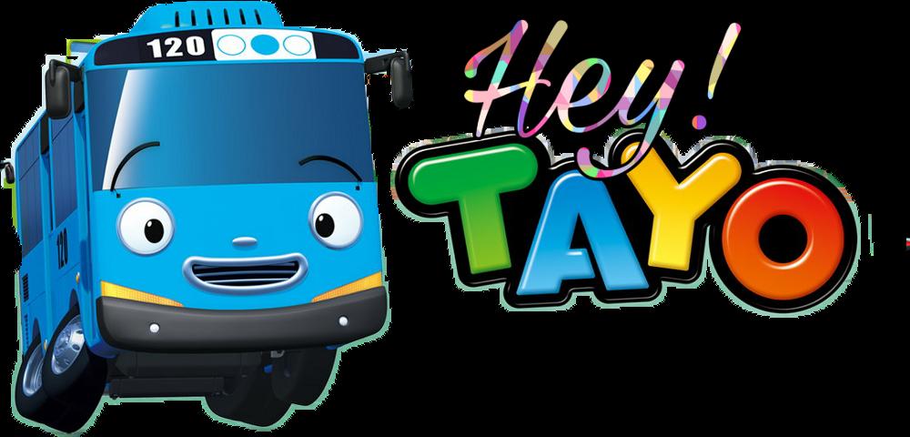 Stiker Tayo Clipart.