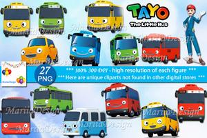 Tayo The Little Bus, 27 PNG, 300 Dpi, Tayo The Little Bus Clipart, Tayo,  Tayo bus, Tayo The Little Bus clip art, Tayo clipart, Tayo party.