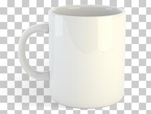 Taza blanca PNG cliparts descarga gratuita.