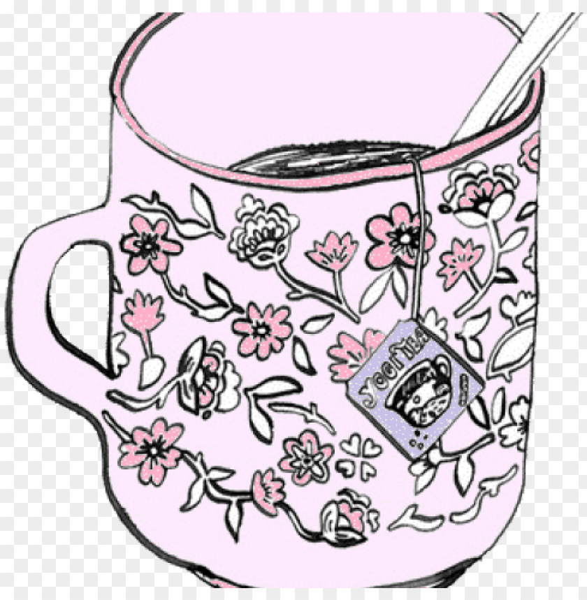 teacup clipart png tumblr.