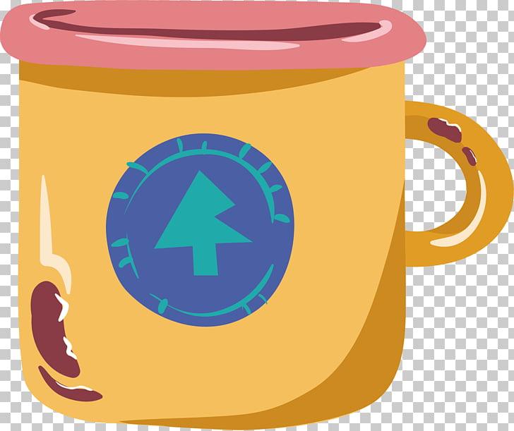 Taza de café taza de té, taza de té amarillo PNG Clipart.
